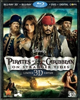 Pirates of the Caribbean: On Stranger Tides 3D (BD/DVD + Digital Copy)