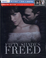 Fifty Shades Freed: Unrated DigiBook (BD/DVD + Digital Copy)(Exclusive)