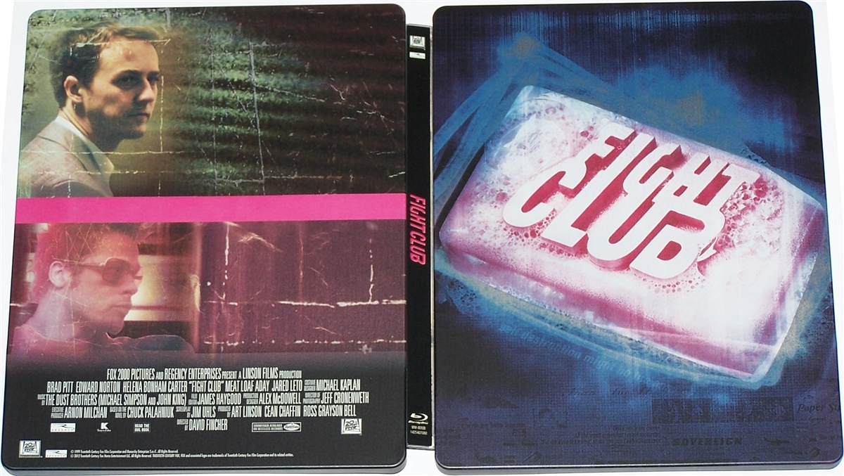 fight club blu ray  Fight Club SteelBook (BD/DVD)(UK)