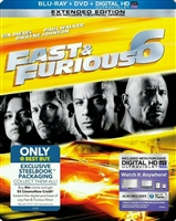 Fast and Furious 6: Extended Edition SteelBook (BD/DVD + Digital Copy)(Exclusive Art)
