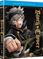 Black Clover: Season 1 - Part 1 (BD/DVD + Digital Copy)