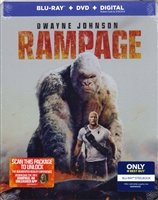 Rampage SteelBook (BD/DVD + Digital Copy)(Exclusive)