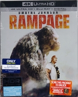 Rampage 4K SteelBook (BD + Digital Copy)(Exclusive)