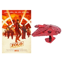 Solo: A Star Wars Story w/ Millenium Falcon Figurine (BD + Digital Copy)(Exclusive)