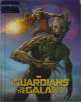 Guardians of the Galaxy 3D Rocket & Groot Lenticular SteelBook (Blufans #25)