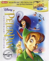 Peter Pan: The Signature Collection DigiPack (BD/DVD + Digital Copy)(Exclusive)