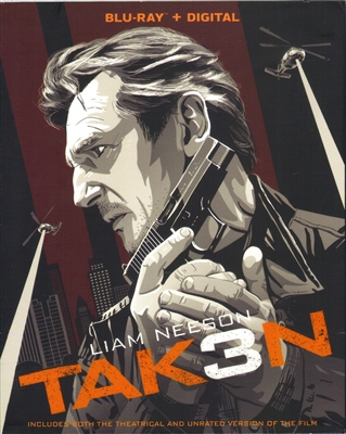 Taken 3: Portrait Edition (BD + Digital Copy)