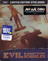 Ash vs Evil Dead: Season 3 SteelBook (BD + Digital Copy)(Exclusive)