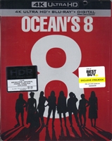 Ocean's 8 4K SteelBook (BD + Digital Copy)(Exclusive)
