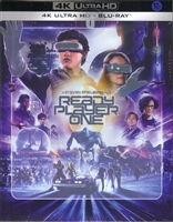 Ready Player One 4K Full Slip SteelBook (Korea)