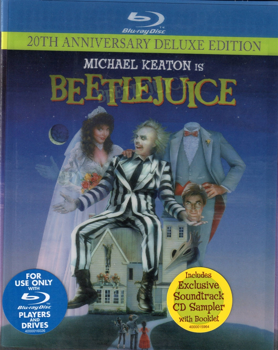 Beetlejuice 20th Anniversary Deluxe Edition W Cd Sampler