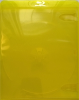 Empty 1-Disc Clear Yellow Blu-ray Case (11mm)