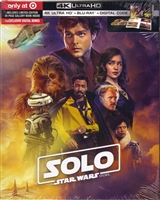 Solo: A Star Wars Story 4K DigiPack (BD + Digital Copy)(Exclusive)