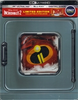 Incredibles 2 4K SteelBook (BD + Digital Copy)(Exclusive)