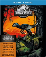 Jurassic World 5-Film Collection SteelBook (BD + Digital Copy)(Exclusive)