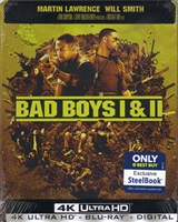 Bad Boys / Bad Boys II 4K SteelBook (BD + Digital Copy)(Exclusive)