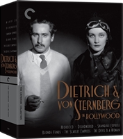 Dietrich and von Sternberg in Hollywood: Criterion Collection DigiPack