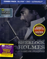 Sherlock Holmes: A Game of Shadows SteelBook (BD/DVD + Digital Copy)(Exclusive)