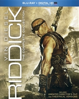 Riddick: The Complete Collection (Pitch Black / The Chronicles of Riddick / Riddick / Dark Fury)(Slip)