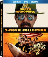 Super Troopers 1 & 2 (BD/DVD + Digital Copy)