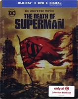 The Death of Superman SteelBook (BD/DVD + Digital Copy)(Exclusive)