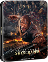 Skyscraper 3D & 4K SteelBook (BD + Digital Copy)(UK)
