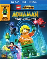 LEGO DC Comics Super Heroes: Aquaman - Rage of Atlantis w/ Figurine (BD/DVD + Digital Copy)