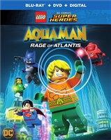 LEGO DC Comics Super Heroes: Aquaman - Rage of Atlantis (BD/DVD + Digital Copy)