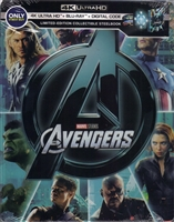 The Avengers 4K SteelBook (BD + Digital Copy)(Exclusive)