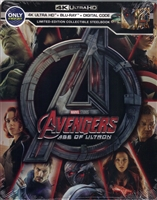 Avengers: Age of Ultron 4K SteelBook (BD + Digital Copy)(Exclusive)
