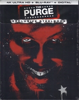 The Purge 4K SteelBook (BD + Digital Copy)(Exclusive)
