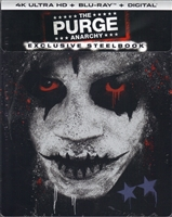 The Purge: Anarchy 4K SteelBook (BD + Digital Copy)(Exclusive)