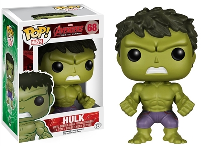 Hulk Bobble-Head: Avengers - Age of Ultron Funko Pop! #68