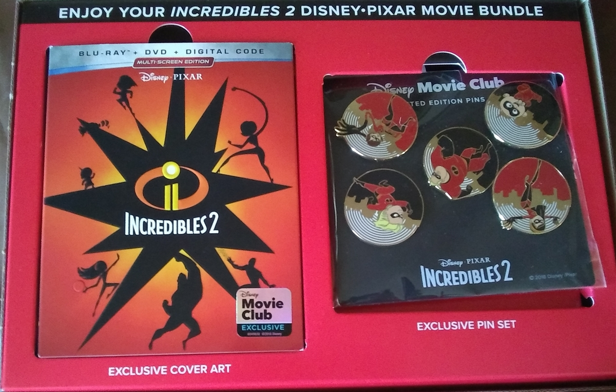 Incredibles 2 Gift Set (BD/DVD + Digital Copy)(Exclusive)