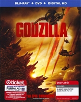Godzilla w/ Bonus Content (2014)(BD/DVD + Digital Copy)(Exclusive)