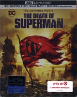 The Death of Superman 4K SteelBook (BD + Digital Copy)(Exclusive)