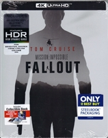 Mission: Impossible - Fallout 4K SteelBook (BD + Digital Copy)(Exclusive)