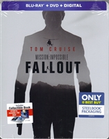 Mission: Impossible - Fallout SteelBook (BD/DVD + Digital Copy)(Exclusive)