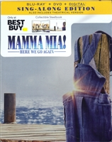 Mamma Mia! Here We Go Again SteelBook (BD/DVD + Digital Copy)(Exclusive)