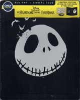 The Nightmare Before Christmas: Sing-Along Edition SteelBook (BD + Digital Copy)(Exclusive)