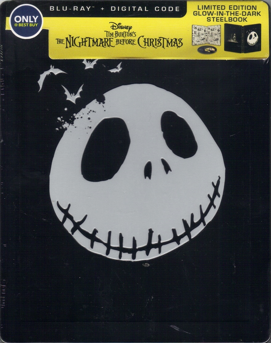 The Nightmare Before Christmas: Sing-Along Edition SteelBook (BD + ...