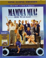 Mamma Mia! Here We Go Again (BD/DVD/CD + Digital Copy)(Exclusive)