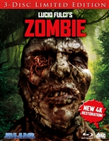 Zombie 4K: Worm Face Cover (BD/CD)