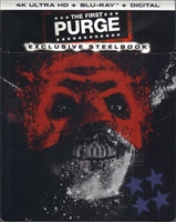 The First Purge 4K SteelBook (BD + Digital Copy)(Exclusive)
