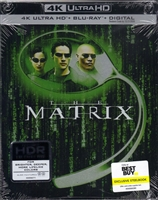 The Matrix 4K SteelBook (BD + Digital Copy)(Exclusive)