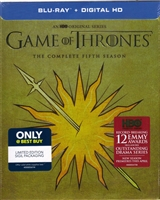 Game of Thrones: Season 5 (Martell Cover)(DigiPack)(BD + Digital Copy)(Exclusive)