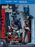 Batman: Assault on Arkham w/ Harley Quinn Figurine (BD/DVD + Digital Copy)(Exclusive)