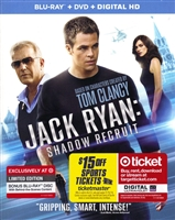 Jack Ryan's: Shadow Recruit w/ Bonus Disc (BD/DVD + Digital Copy)(Exclusive)