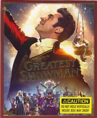 The Greatest Showman 1-Click SteelBook (Hong Kong)