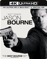 Jason Bourne 4K (BD/DVD + Digital Copy)